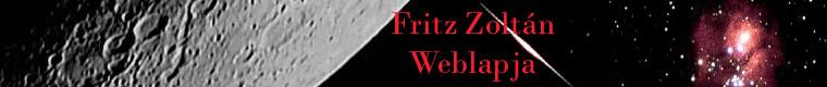 Fritz Zoltán weblapja